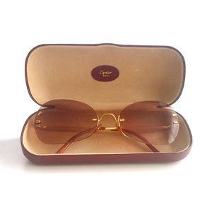 4759891a2944 Cartier Other - Authentic Cartier 18K Gold Rimless Frames